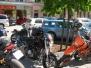 Motorradtreffen Maximarkt